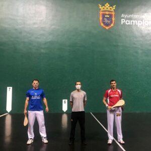 Legarra completa la nómina de finalistas del Campeonato Cinco y Medio al vencer a Erburu