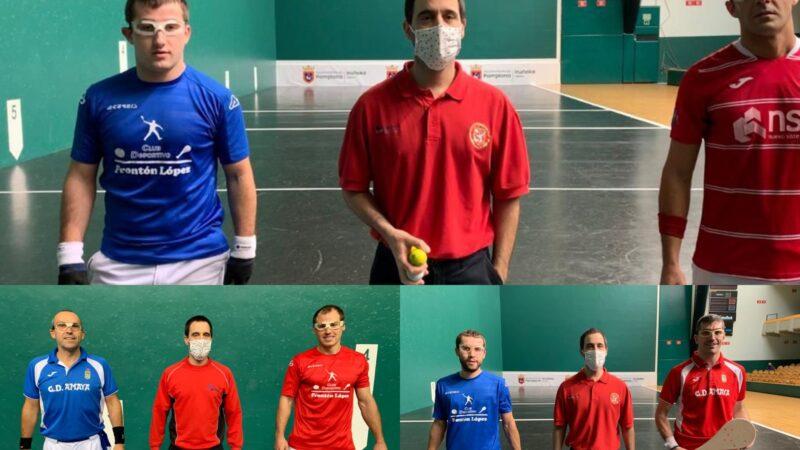 Paleta goma pese a la pandemia (cuartos de final y semifinal del Cinco y Medio, sábado 31 de octubre)